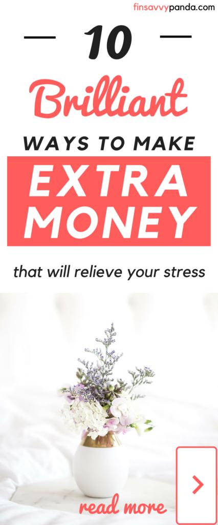 make more money ideas / make extra money tips / side hustle ideas / how to make more money