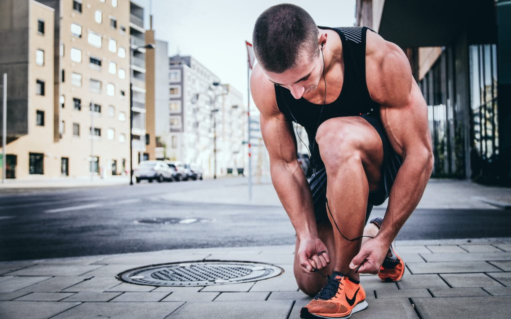new year's resolutions - exercise and stay fit to save money and improve your finances