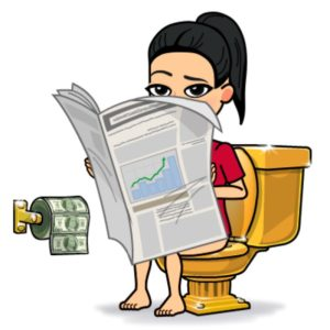 Stick To Goals - Bitmoji poop