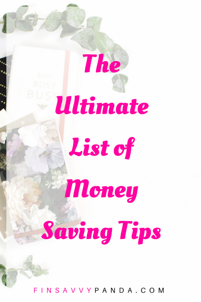 how to save money with these money saving tips