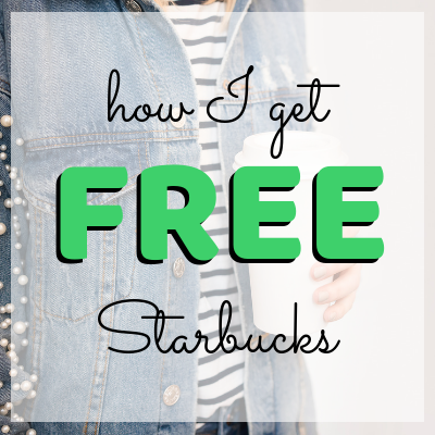 how to get free starbucks