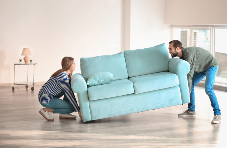 how to furnish apartment on a budget