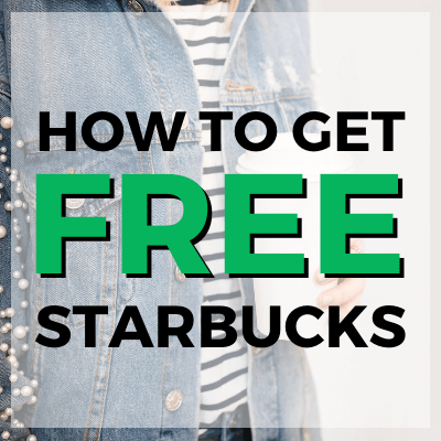 how to get free starbucks coffee