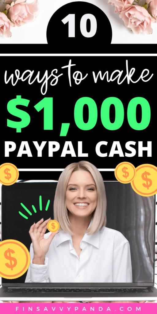 make money online paypal