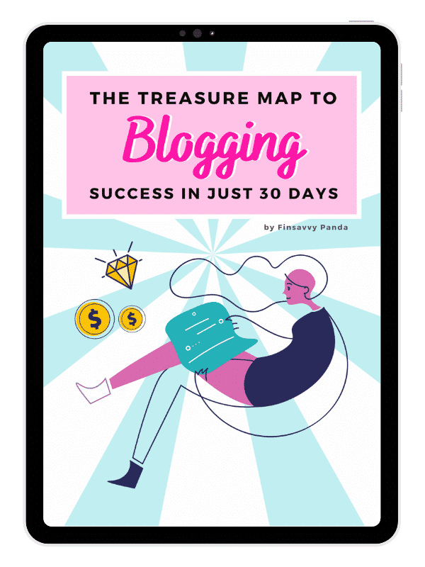 the treasure map to blogging success in 30 days