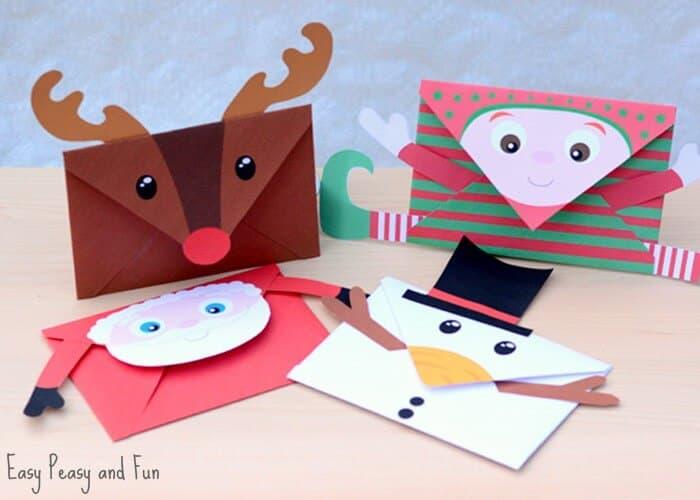 christmas envelopes for money gift
