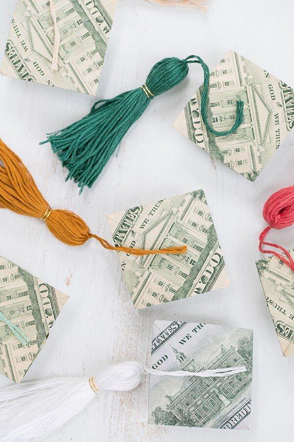 diy money gift idea graduation