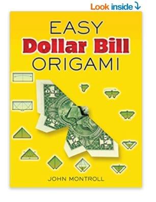 money gift idea easy dollar bill origami