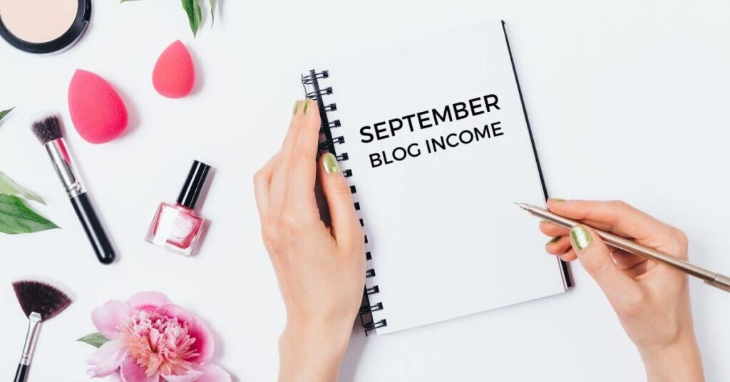 september blog income