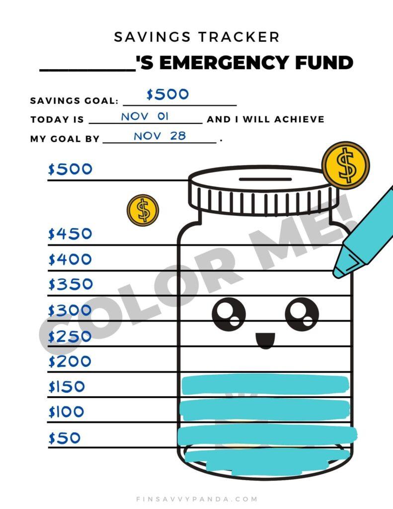 emergency fund budgeting