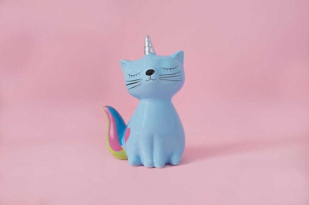 unicorn piggy bank